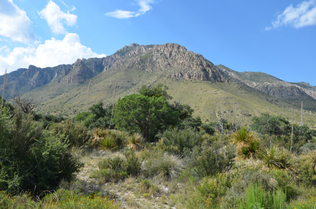 Guadalupe Mountains, driving from Orlando to San Francisco